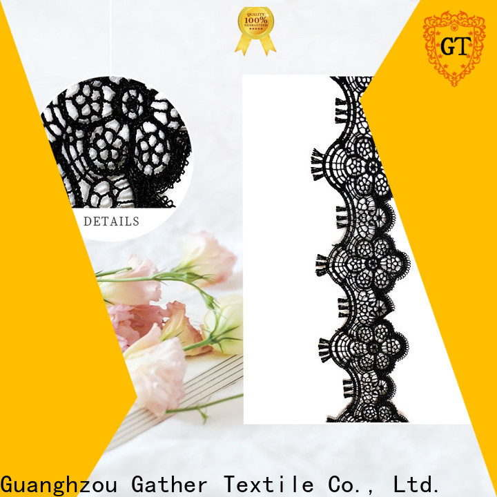 GT New embroidered lace ribbon factory for promotion