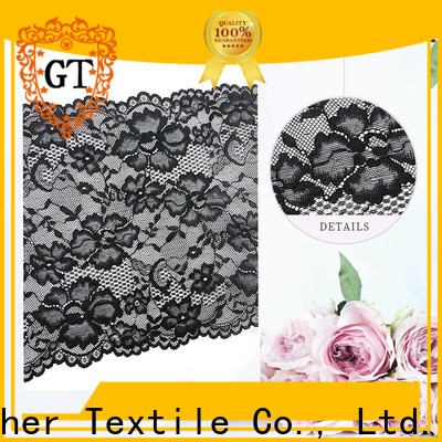 GT Wholesale white lace fabric Suppliers bulk production