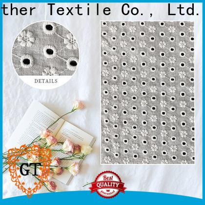 GT Custom lace clothing fabric manufacturers bulk buy