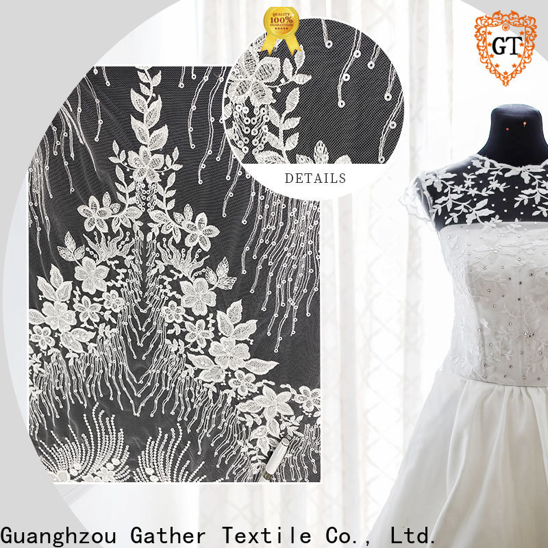 GT High-quality mikado silk wedding dress factory on sale