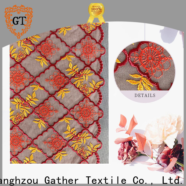 Best vintage lace fabric Suppliers bulk production