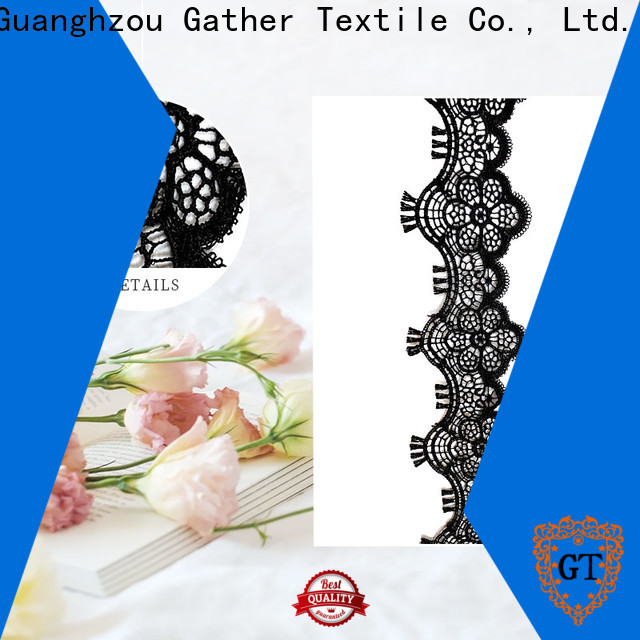 GT High-quality magenta lace fabric for business for sale