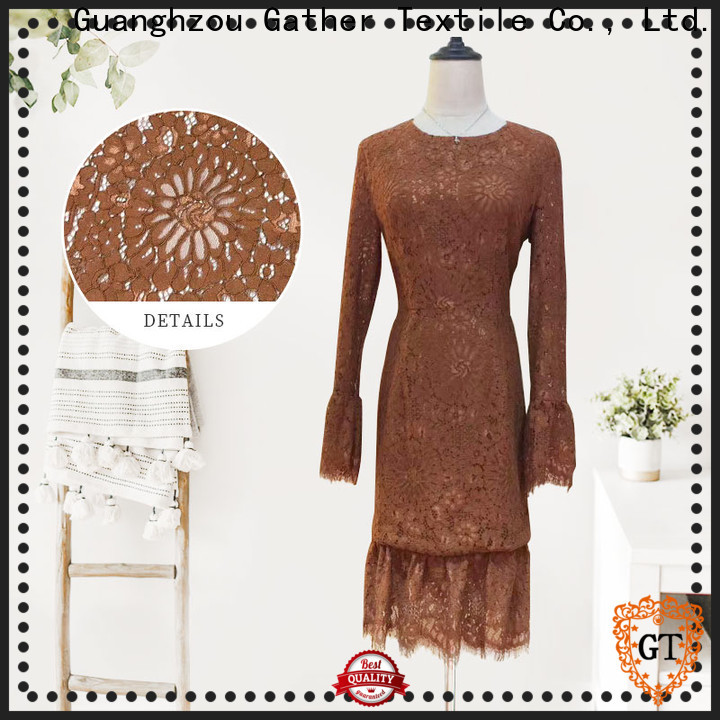 Wholesale all over lace dress Suppliers bulk production