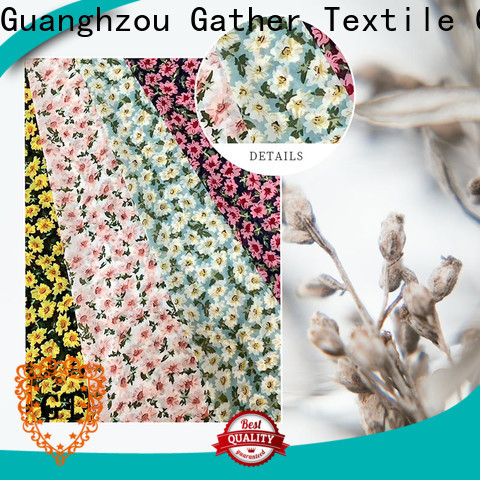 GT custom printed upholstery fabric Supply bulk production