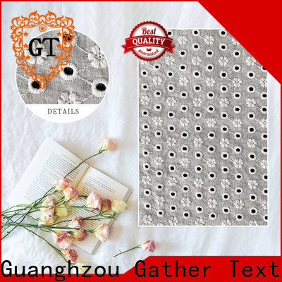 GT High-quality swiss lace fabric company for sale