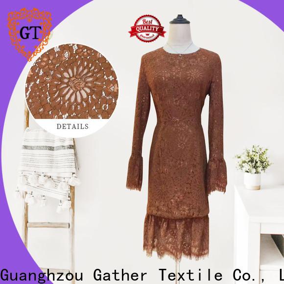 GT Custom raschel lace wholesale Supply bulk production