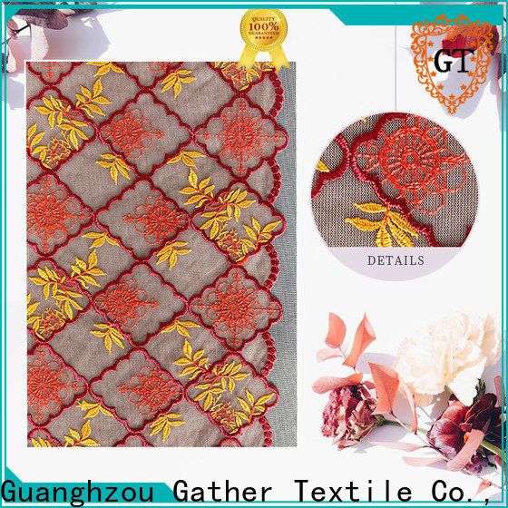Latest navy blue lace tablecloth company bulk production