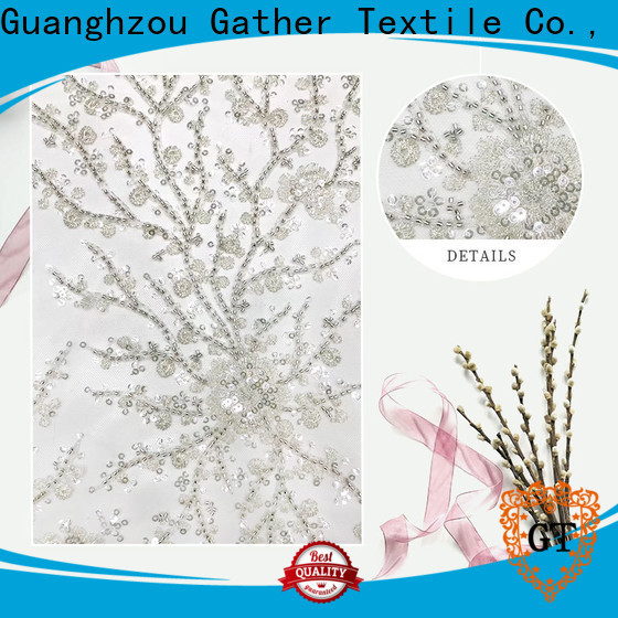 GT Wholesale embroidery fabric wholesale for business for sale