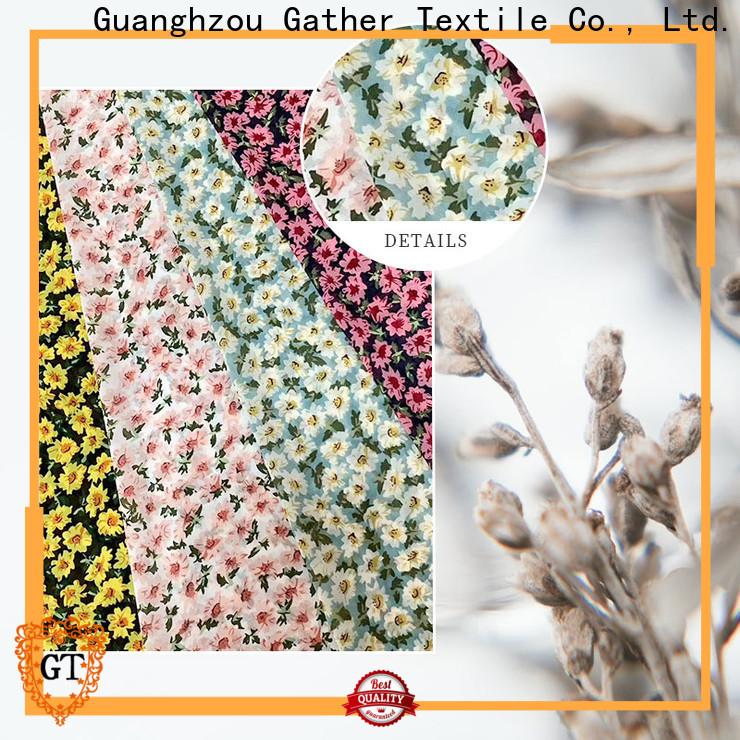 GT Best printed muslin fabric for business bulk buy