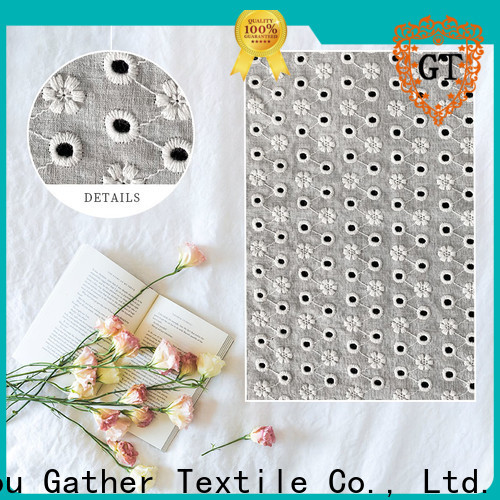 GT Custom teal lace material for business for promotion