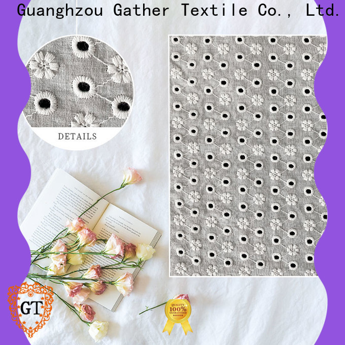 GT contemporary lace fabric for business for promotion