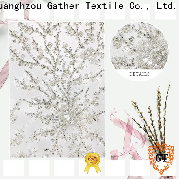 GT Best embroidery fabric for business for promotion