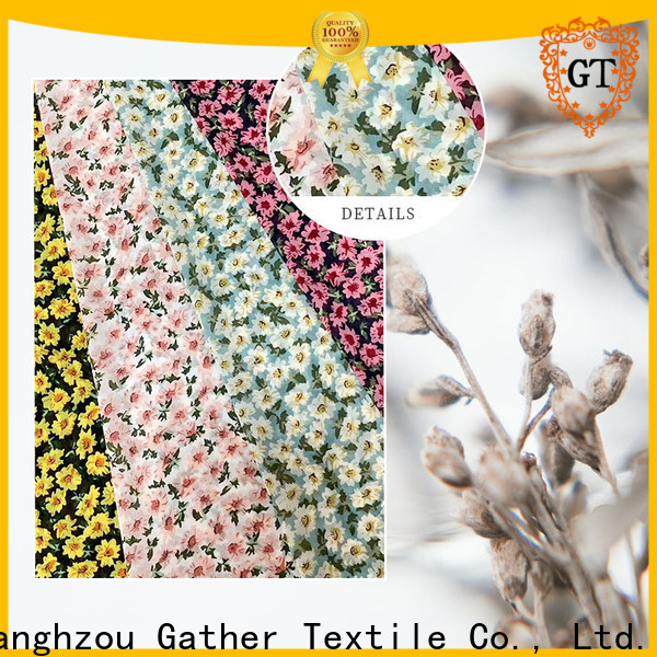 Custom blue printed fabric Suppliers on sale