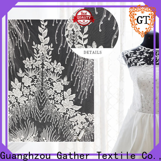 GT Gather Textile wedding fabric swatches manufacturers for promotion