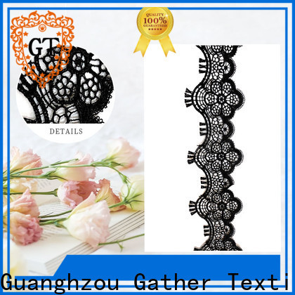 Custom flower motif embroidery company bulk production