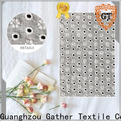 GT Best cotton lace dress fabric company bulk buy