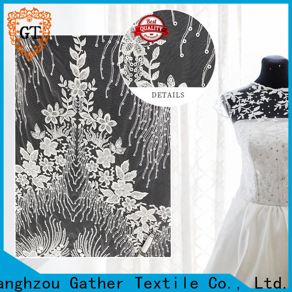 Gather Textile best fabric for wedding dress Supply for promotion