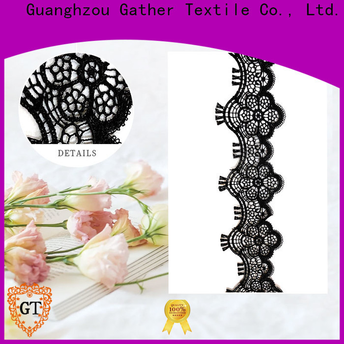 GT Top flower lace material Supply for sale