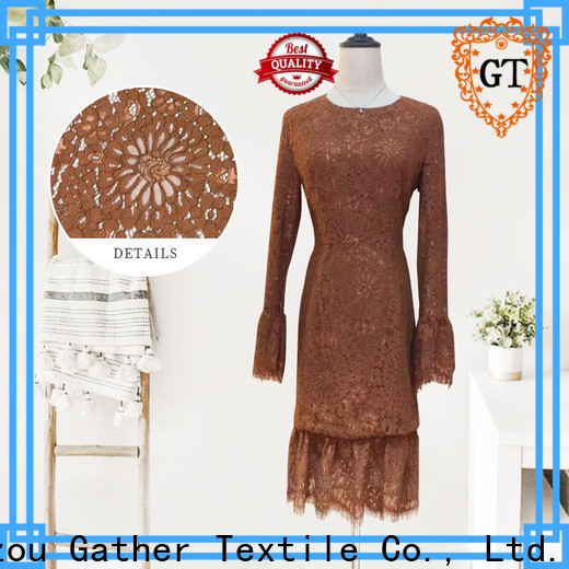 GT Latest floral lace trim for business for promotion