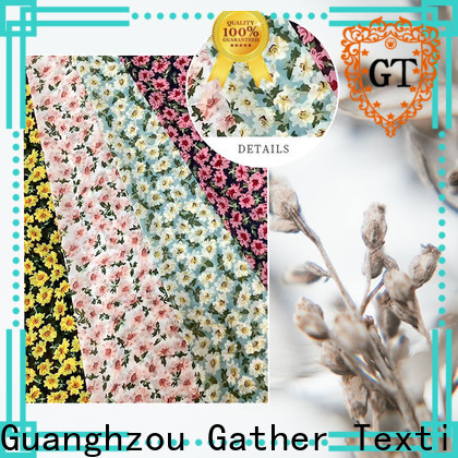 GT printed muslin fabric for business for promotion