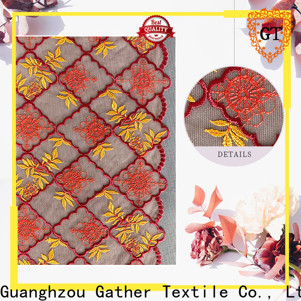 GT buy bridal lace fabric online Suppliers bulk buy
