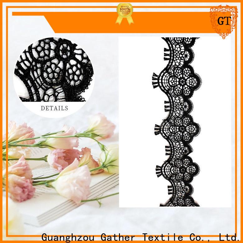 GT cotton lace fabric online factory bulk production