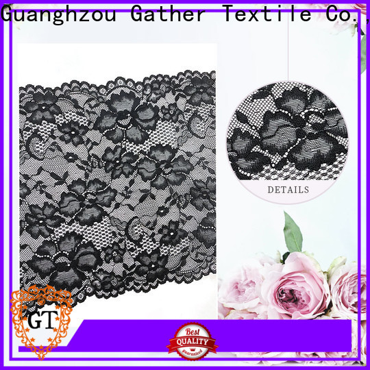 GT Top flower lace trim Supply for promotion