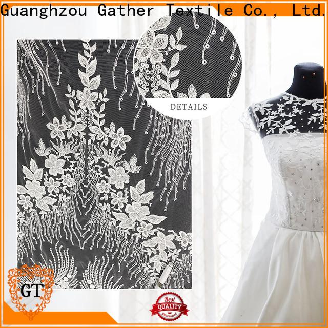 GT silk bridal fabric Supply for sale