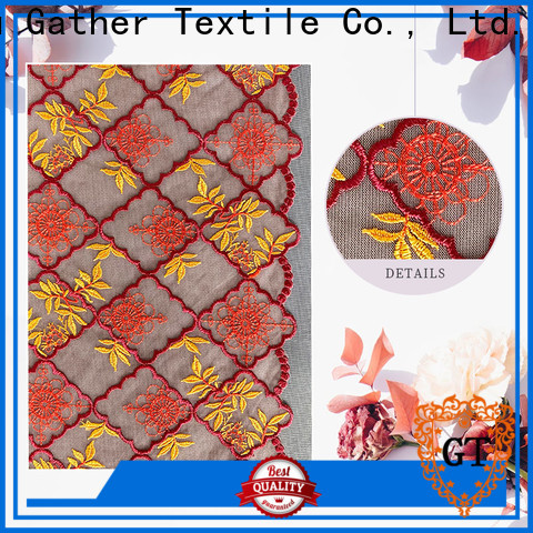 GT Custom vintage lace material for business bulk production