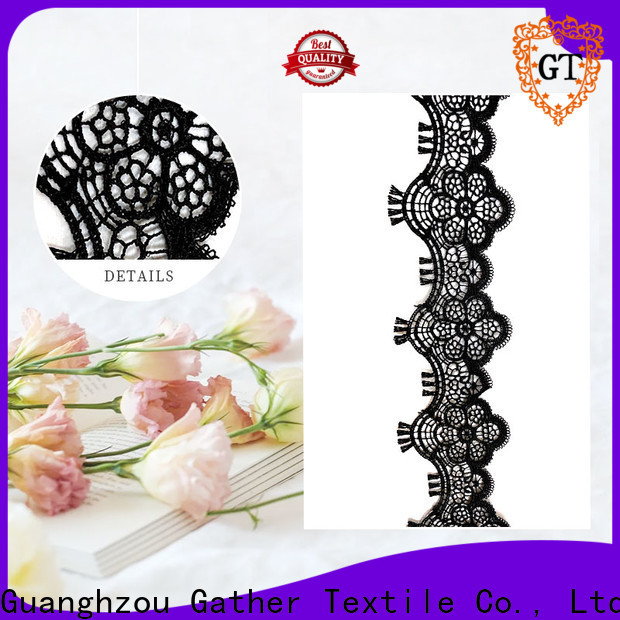 High-quality embroidered bridal lace for business bulk buy