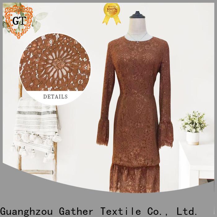 Best raschel lace wholesale company bulk production