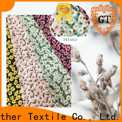 Gather Textile printed muslin fabric Supply on sale