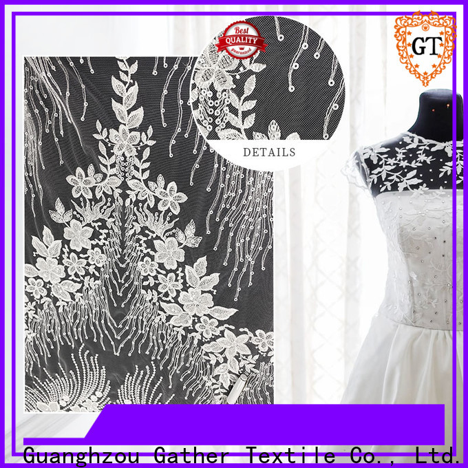 GT white fabric for wedding decor Suppliers for promotion