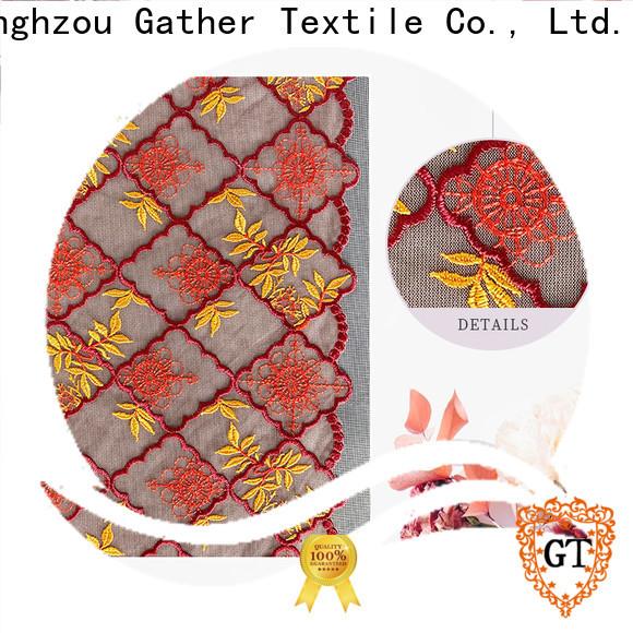 GT Wholesale navy blue lace material manufacturers bulk buy