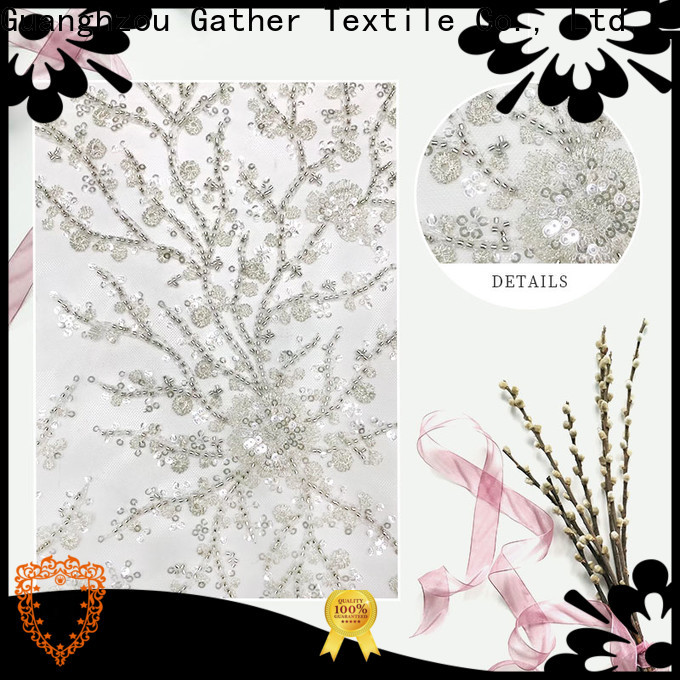 GT embroidery cloth material Suppliers bulk production