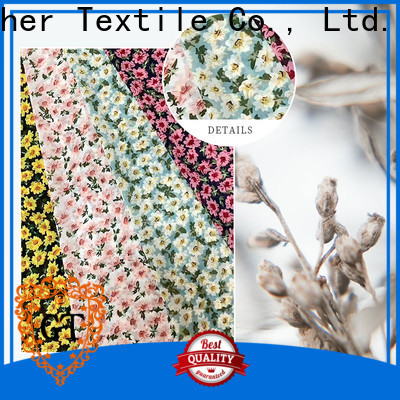Top custom printed fabric manufacturers Supply for sale