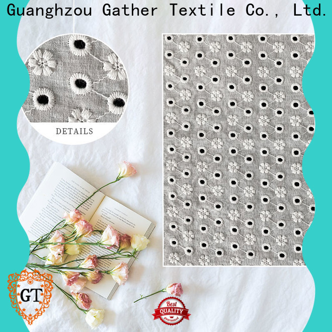 GT Latest alencon lace fabric factory bulk buy