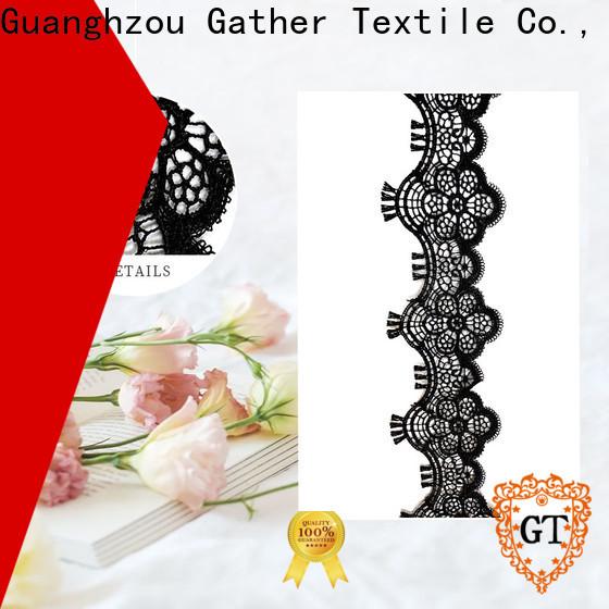 Latest metallic gold lace fabric Supply on sale