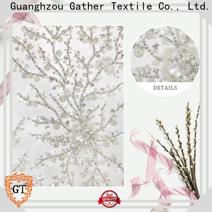 New sequin embroidery fabric manufacturers bulk production