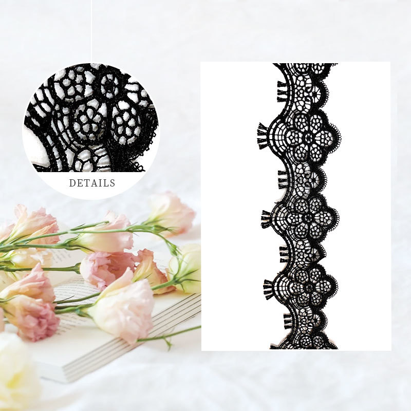 Embroidered Lace Toothbrush Logo Embroidery Woven Label Motif  Embroidery & 3D Embroidery Trims