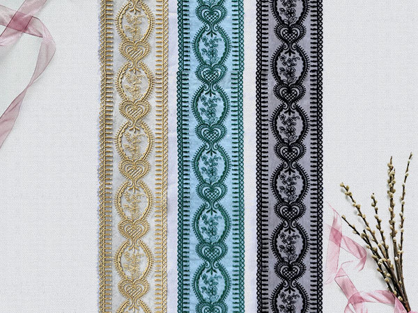 Embroidered Lace Fabric  3527TJA