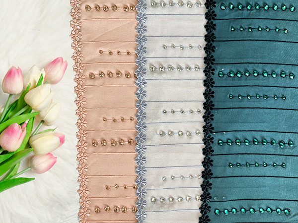 Guipure Lace Fabric Trim