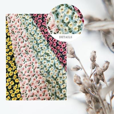 Custom Printed  Fabric Chiffon Polyester Mesh Fabric Wholesale