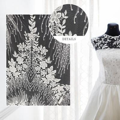 Custom Wedding Dress Bridal Lace Fabric Wedding Material