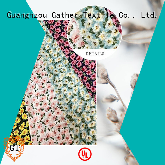 GT custom printed fabric manufacturers Supply on sale