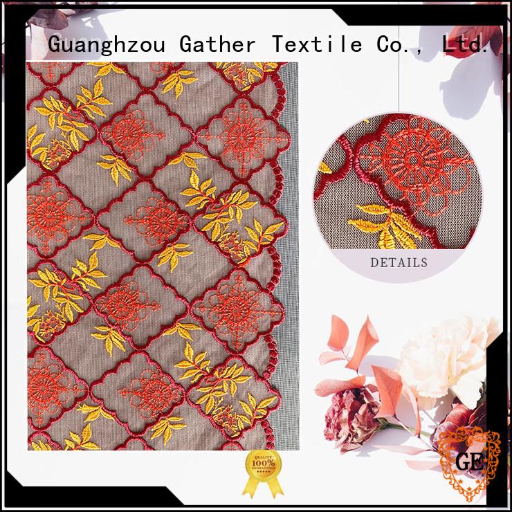 GT Top beautiful lace fabric Supply bulk production